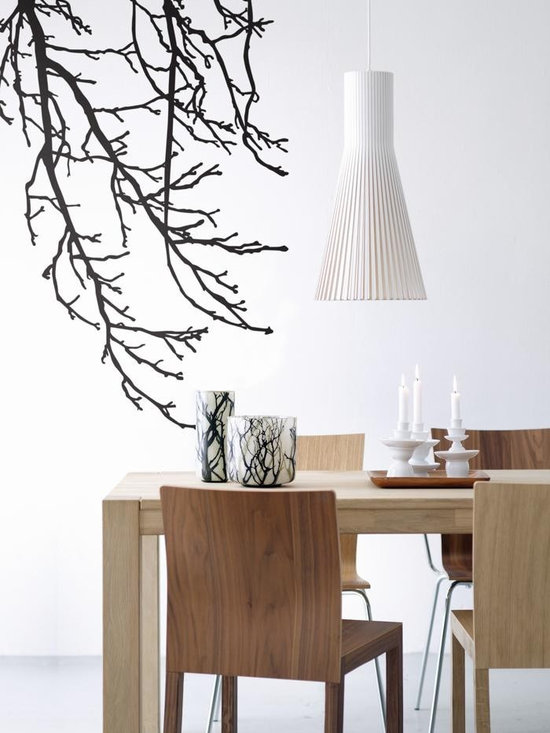 Ferm Living Branches WallSticker - With Ferm Living WallStickers it is easy to create a new look and change the style in a room in a matter of minutes. By using WallStickers, your kids can also help decorate their own room in an array of colors.