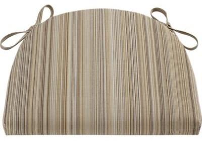 Kipling-Vintner Latte Stripe Cushion contemporary-decorative-pillows