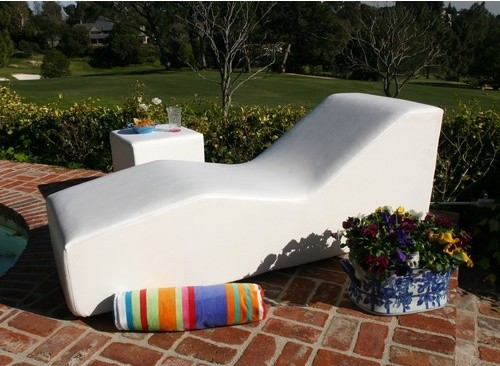 WAVE Chaise modern outdoor chaise lounges