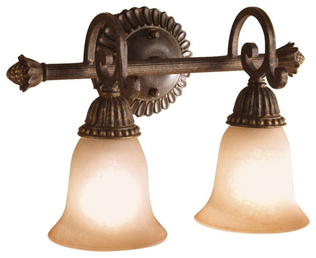 "Larissa Collection 15 1/2"" Wide Bathroom Light Fixture traditional-bathroom-vanity-lighting"