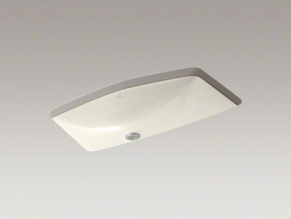 KOHLER Man's Lav(TM) undermount bathroom sink - Contemporary - Bathroom Sinks - by Kohler