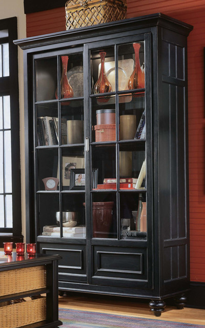 American Drew Camden Bookcase/China Cabinet - Transitional - China Cabinets And Hutches - other ...