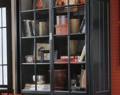American Drew Camden  Bookcase/China Cabinet traditional-pantry-cabinets