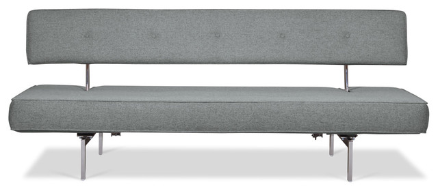 Bosco Grey Sofa Sleeper modern sofas