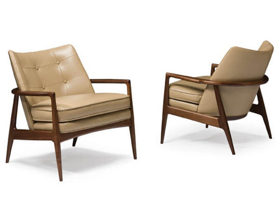 Thayer Coggin - Draper Lounge Chairs by Milo Baughman from Thayer Coggin - Thayer Coggin Inc.