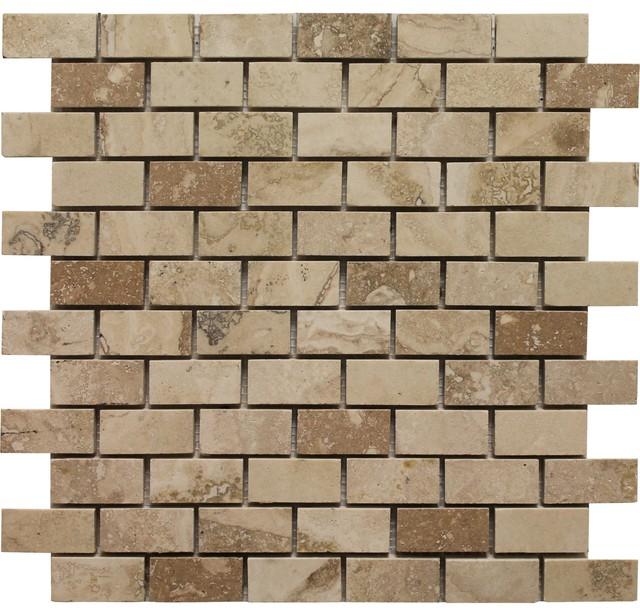 Soci Travertine Mosaic Tile Sheet SSV-619 - HomeThangs.com mosaic-tile