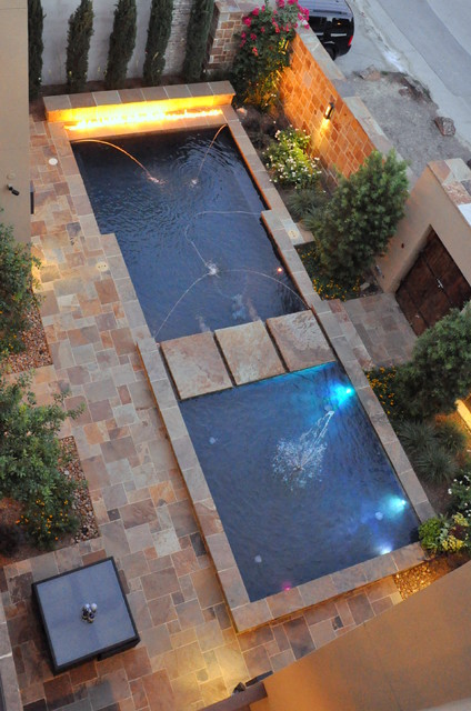 2scale architects contemporary pool