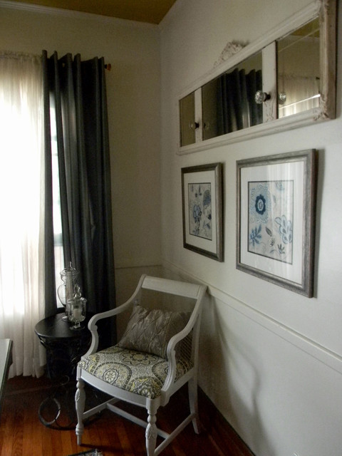 Small budget dining room redesign traditional