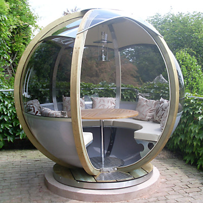 Farmers Cottage Rotating Sphere Seater modern patio furniture and outdoor furniture