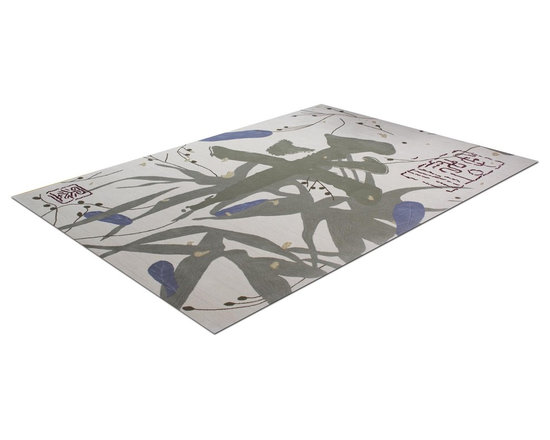 Zen Rug Collection Peace - Allure Custom Rug Studio. Can be made in any size, color, or shape. Made in Denver