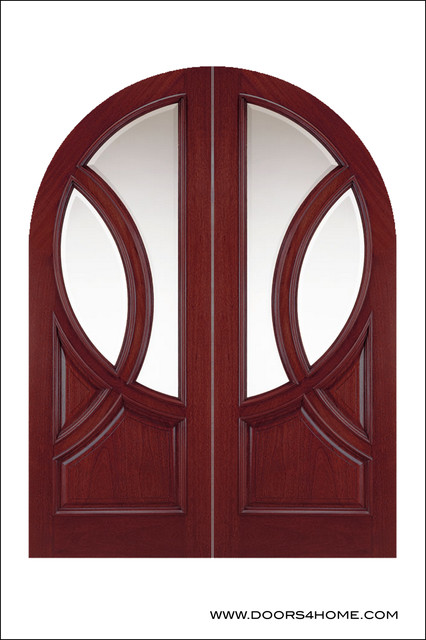 OLD WORLD ENTRY DOORS MODEL # 150 St. Michelle contemporary-front-doors