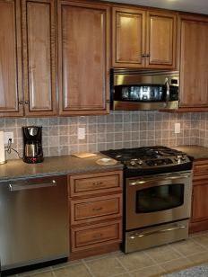 Light Brown Kitchen Cabinets  | Sandstone Rope Door  |  Kitchen Cabinet Kings kitchen-cabinets