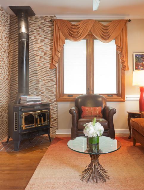 Custom Window Treatments by Heather Rabold at Sheffield Furniture & Interiors window-treatments