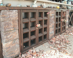crawl space doors rustic
