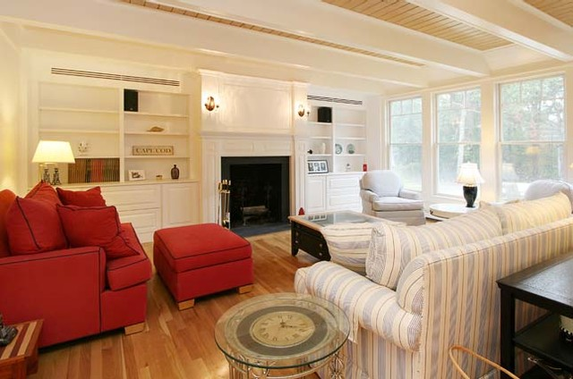 Home Remodeling traditional-living-room