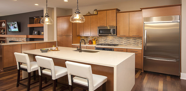 Ashton Woods Atlanta Kitchens contemporary-kitchen