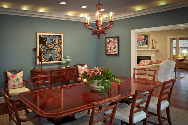 Redo of Dated Living Room and Dining Room traditional-dining-room