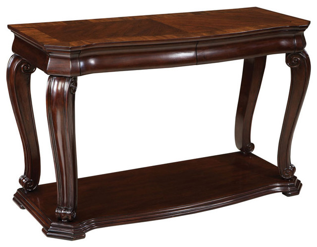 Standard furniture st james rectangular console table in