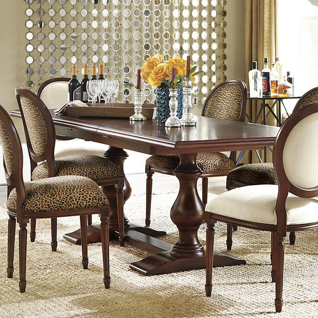 Vendome Double Pedestal Table traditional-dining-tables