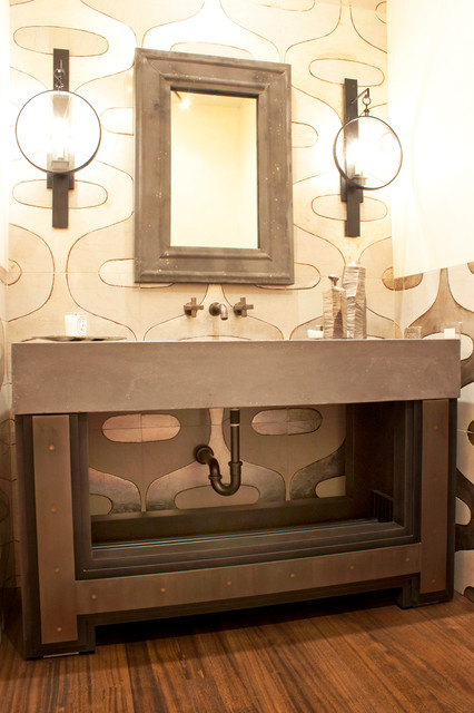 Metal Elements - Contemporary - Bathroom Vanities And Sink Consoles - las vegas - by Martin ...