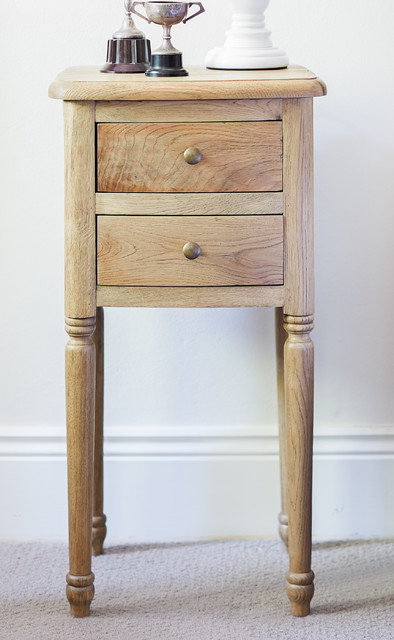 Small Oak Bedside Table Traditional Nightstands And