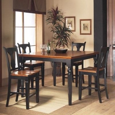 Riverside 5 Pc. Counter Height Dining Set modern-dining-tables