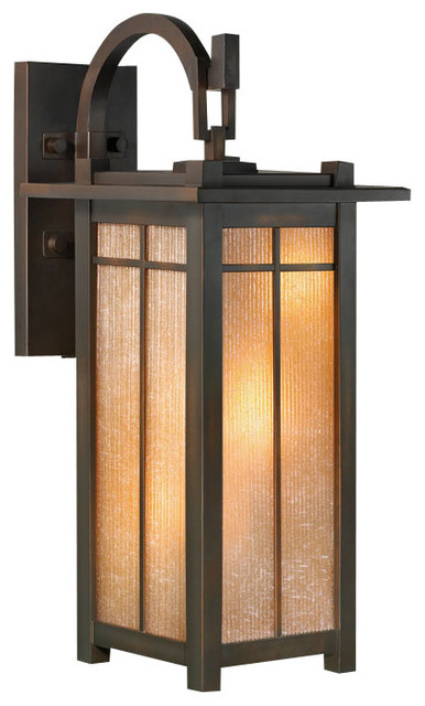 Outdoor Wall Mount 401281ST Arts And Crafts Outdoor Wall Lights