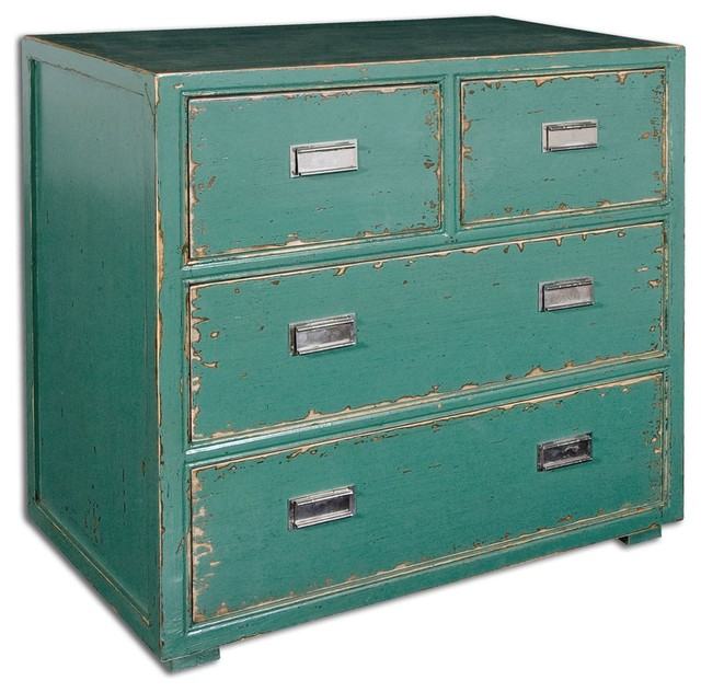 Aquias Hand Painted Accent Chest - Accent Chests And Cabinets - by Innovations Interior Design ...