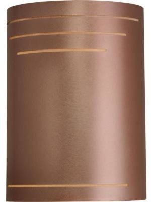 Exterior Copper Wall Sconces : Outdoor Lighting. 1-Light 12 in. Outdoor Raw Copper Exterior Wall Sconce - Contemporary ...