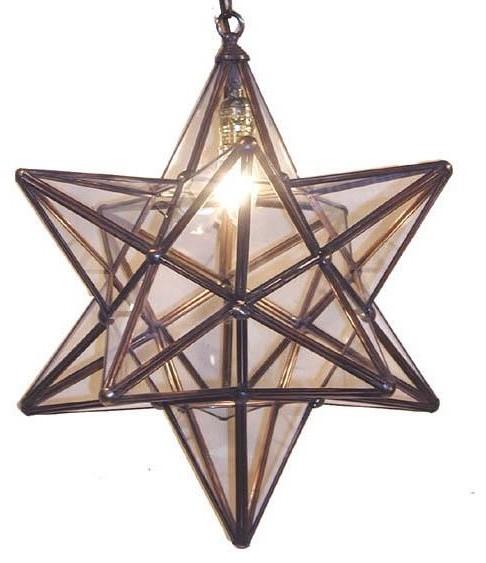 Wunderley Brass and Glass Lantern #5 traditional-pendant-lighting