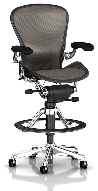 Aeron Stool Low Height Modern Office Chairs By