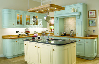 Iona Painted Kitchen traditional