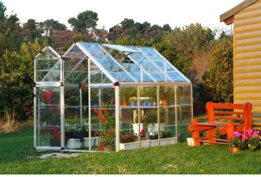 Poly-Tex - Snap & Grow Silver 6 Foot Greenhouse traditional greenhouses