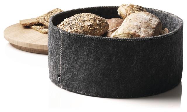 Menu Norm Felt Bread Baskets, Set of 3 modern-serveware