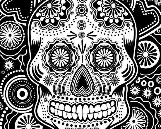 'Dia de los Muertes' Poster by Ancello -