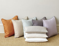 Suzanne Kasler Signature 13oz Linen Pillow - Cover Only contemporary-decorative-pillows