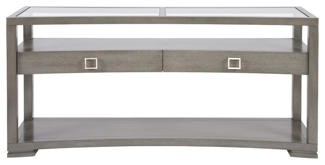 regent sofa table contemporary console tables by benjamin rugs