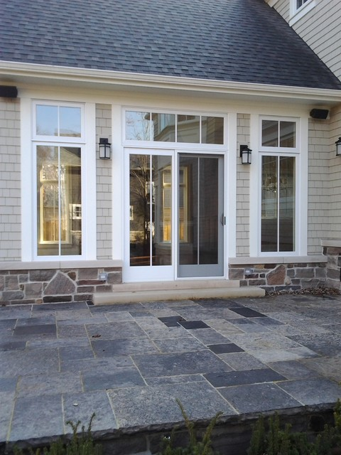 Sliding french doors for Triple french doors exterior