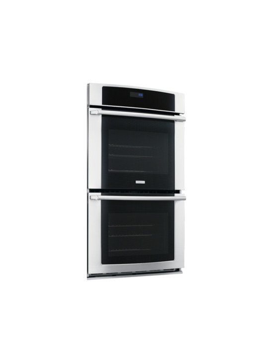 """27"""" Electric Double Wall Oven with Wave-Touch Controls by Electrolux - Large Capacity"""