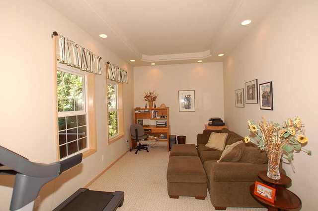 Den or office transitional-home-office