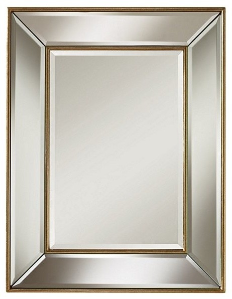 Mirror glass contemporary mirrors by chachkies