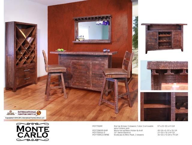 International Furniture Direct Case Pieces