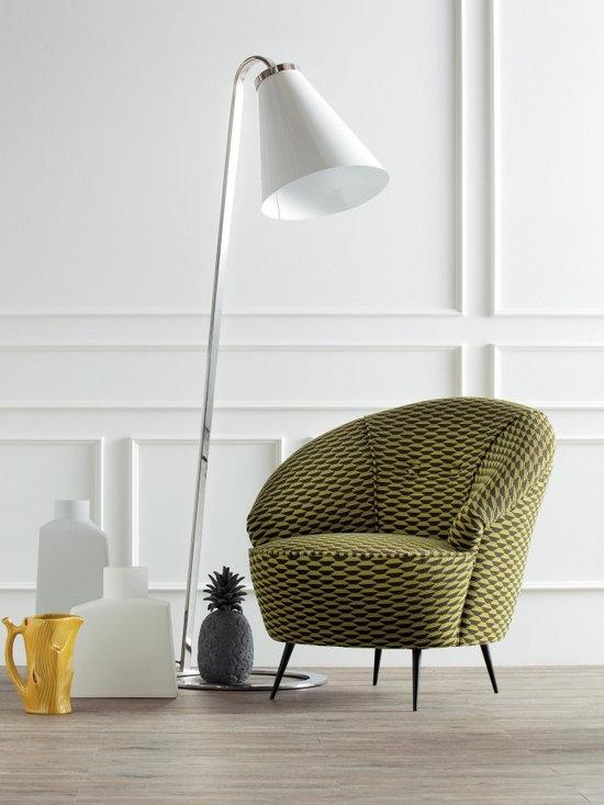 Creazioni Lola armchair - Lola armchair by Creazioni. Cost £1,750. Ships worldwide. Email ilive@imagine-living.com