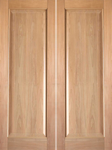 Rustic 6 interior tropical hardwood wood 1 panel double door contemporary interior doors 6 panel hardwood interior doors