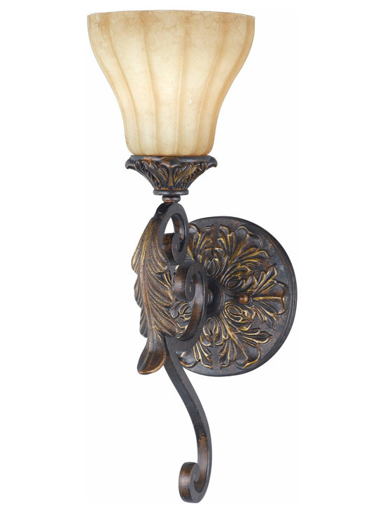 Triarch International - Triarch 32760/1 Venus English Bronze Wall Sconce - Triarch 32760/1 Venus English Bronze Wall Sconce