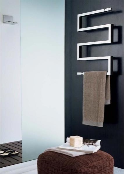 Snake Hydronic Towel Warmer - Modern - Towel Warmers ...