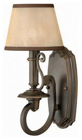Hinkley Lighting 4240OB Plymouth Olde Bronze Wall Sconce traditional-wall-sconces