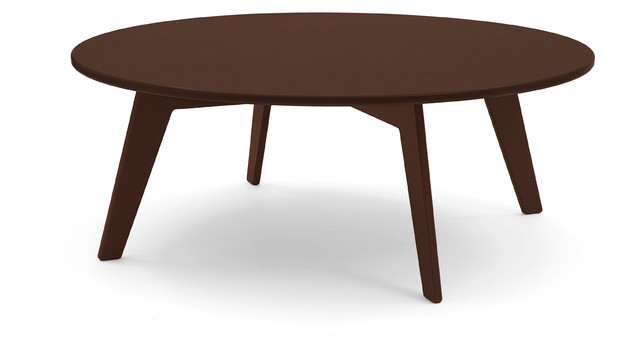 Lollygagger Coffee Table 34 Chocolate Brown Contemporary Outdoor Dining Tables By Loll
