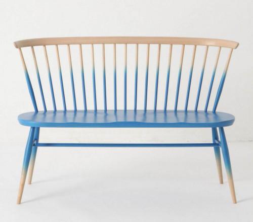 Windsor Love Seat eclectic-indoor-benches