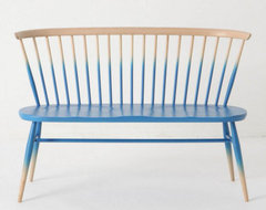 Windsor Love Seat eclectic-indoor-benches